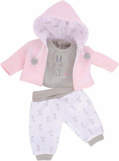 Käthe Kruse Puppenkleidung »Sweater mit T-Shirt und Hose«