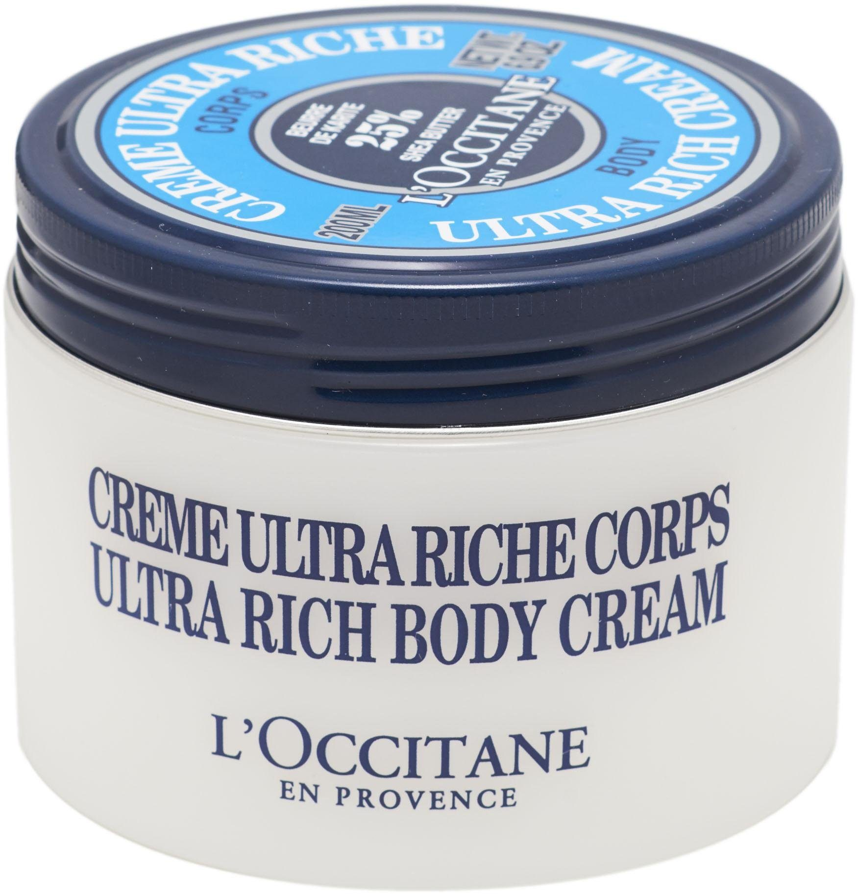 L'OCCITANE, »Karité Creme Ultra Riche Corps«, Körpercreme