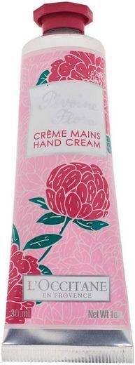 L'OCCITANE Handcreme »Pivoine Flora Crème Mains«, mit feuchtigkeitsspendender Sheabutter