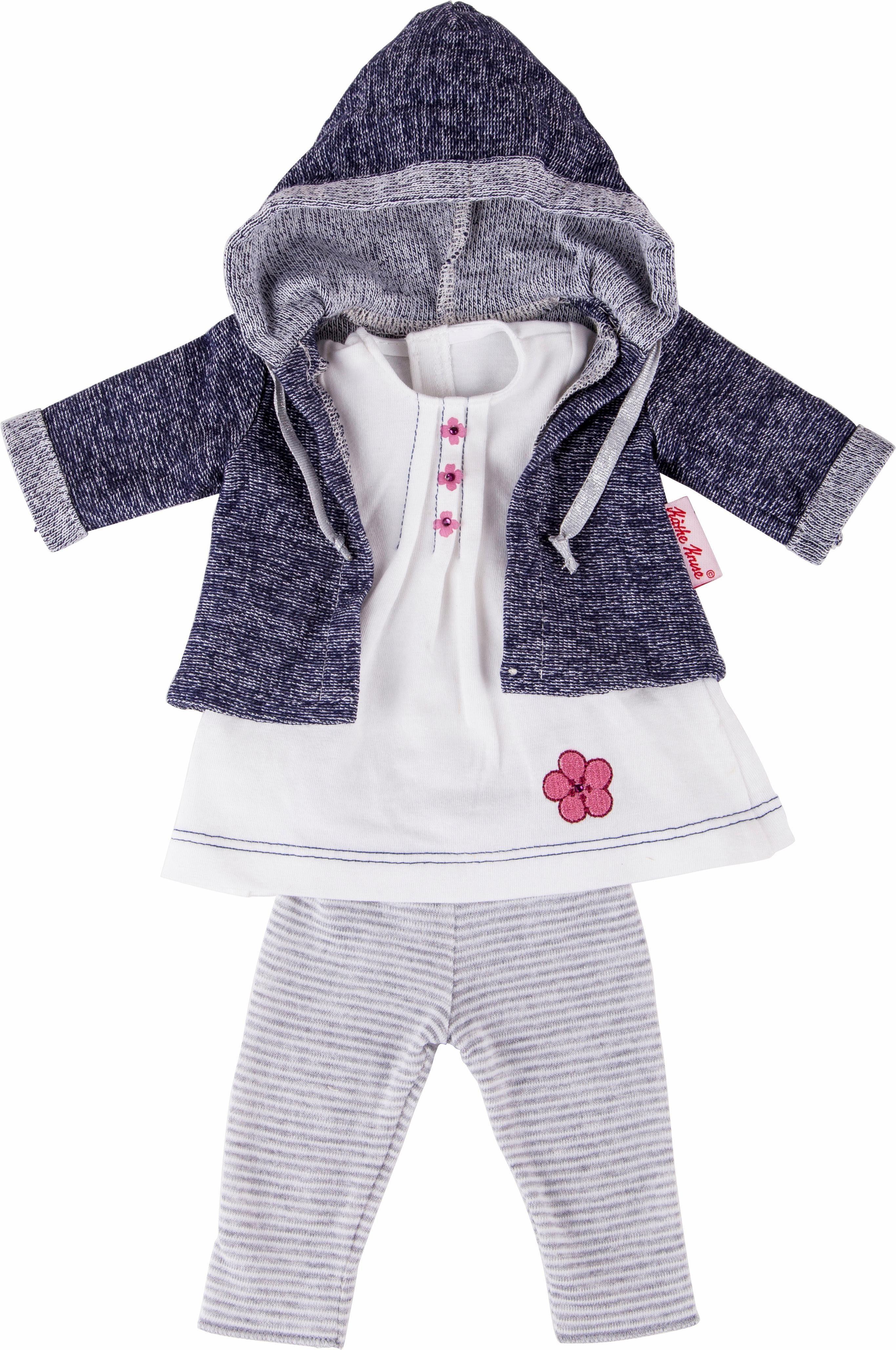 Käthe Kruse Puppenbekleidung, Größe ca. 39-41 cm, »Hanna Outfit 3-teilig«