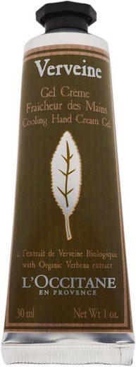 L'OCCITANE Handcreme »Verveine Gel Crème Fraicheur des Mains«, Ätherische Öle von Minze und Thymian