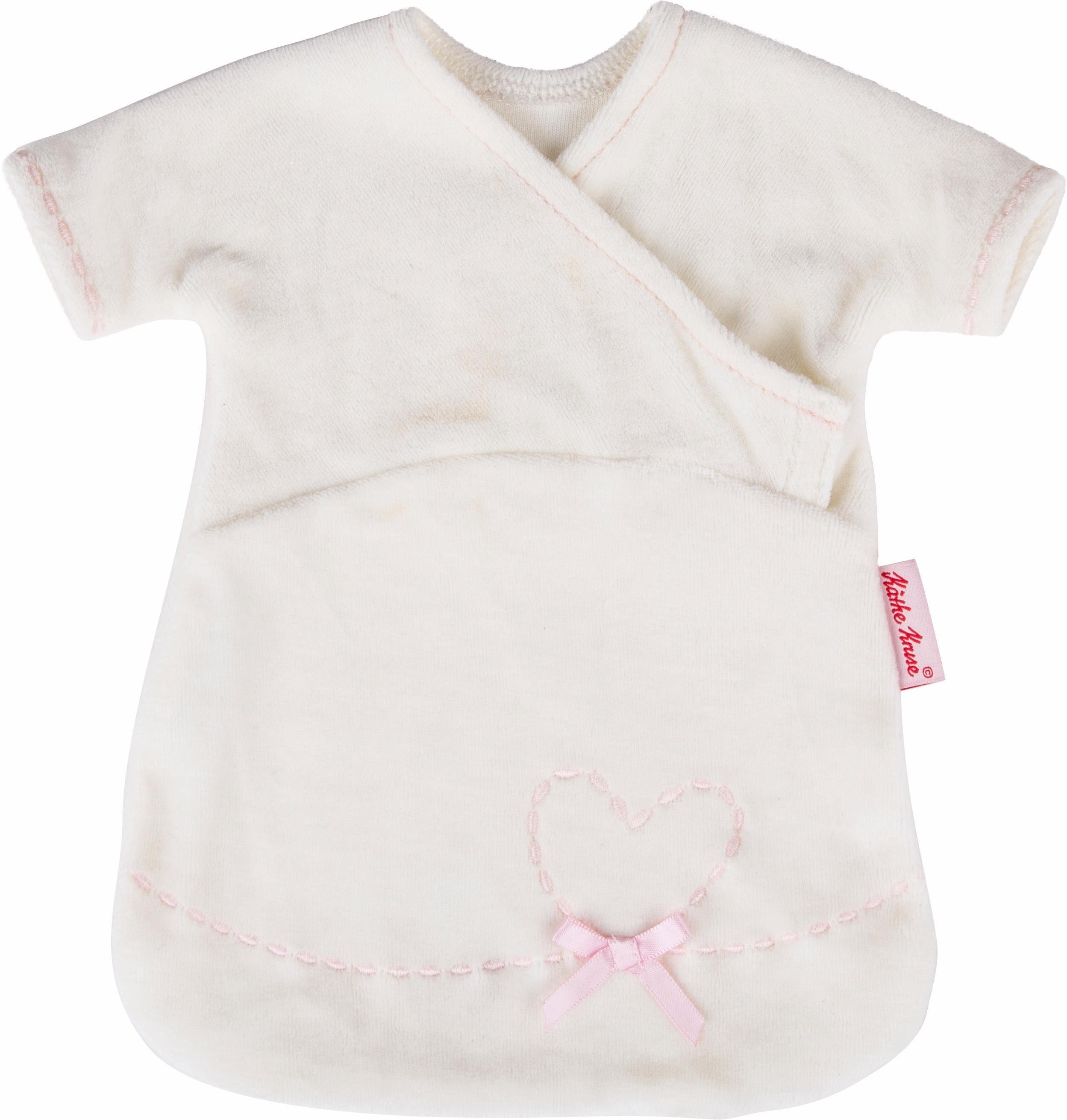 Käthe Kruse Puppenbekleidung, Größe ca. 30-33 cm, »Schlafsack natur bestickt«