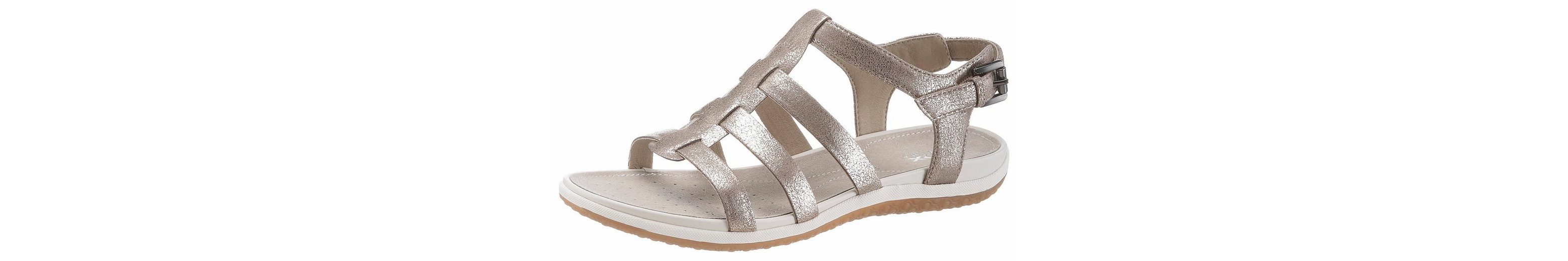 Geox SANDAL VEGA Sandale, in Metallic-Optik