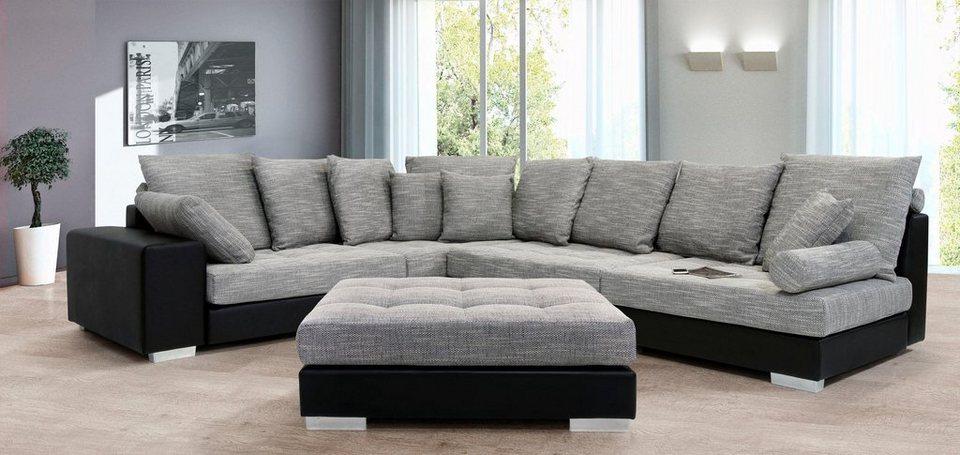 collection ab polsterecke mit federkern kaufen otto. Black Bedroom Furniture Sets. Home Design Ideas