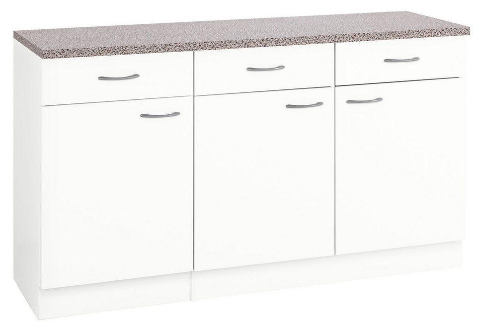 Wiho Kuchen Unterschrank Kiel 150 50 85 Cm Otto