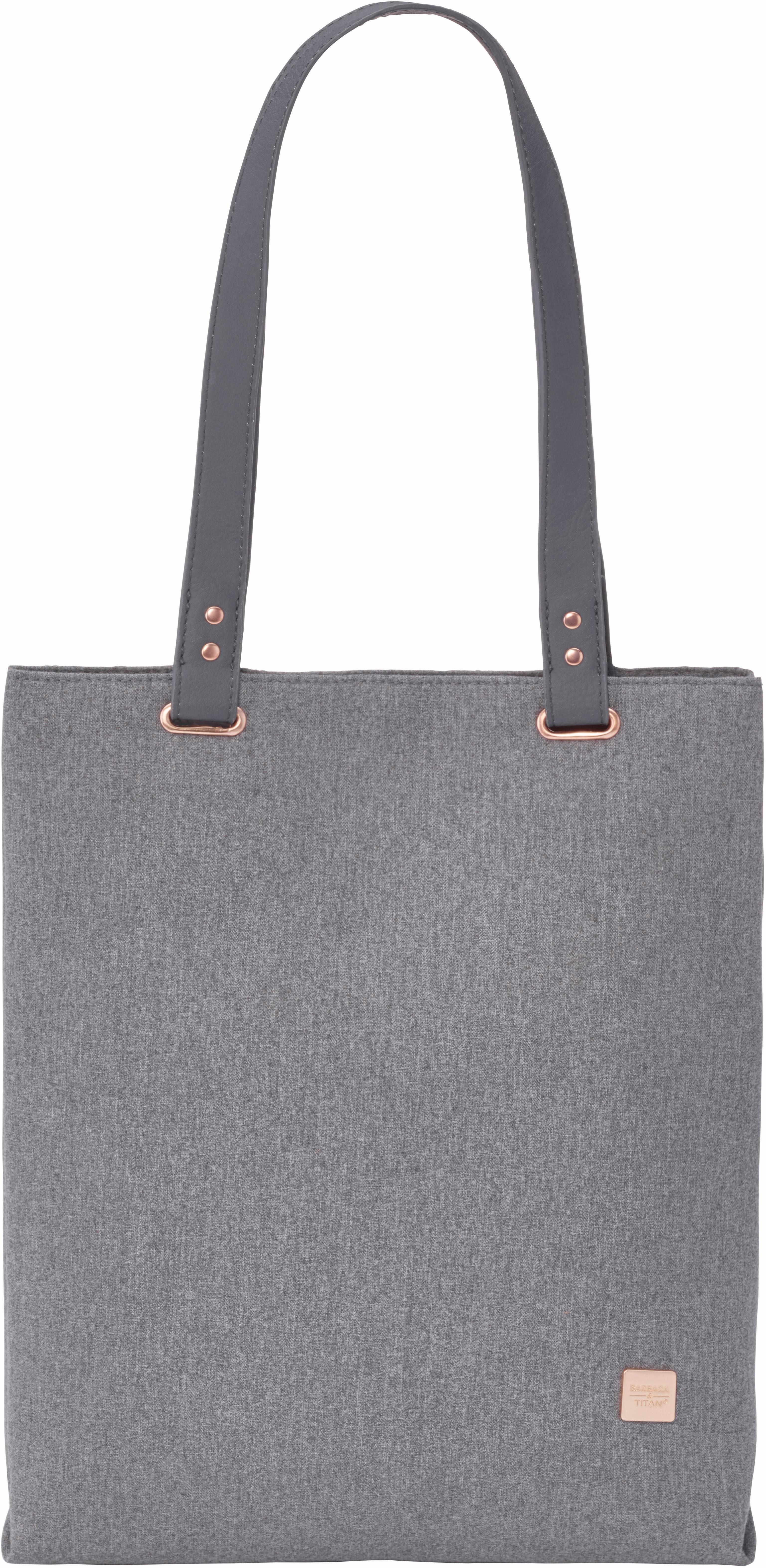 Büro & Schreibwaren Reisekoffer & -taschen Titan Barbara Backpack Rucksack Laptoptasche Tasche Grey Grau Neu