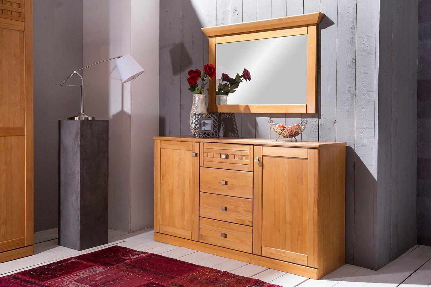 Premium collection by Home affaire Sideboard Romantika mit Softclose-Funktion Breite 149 cm gelb | 05901348042965