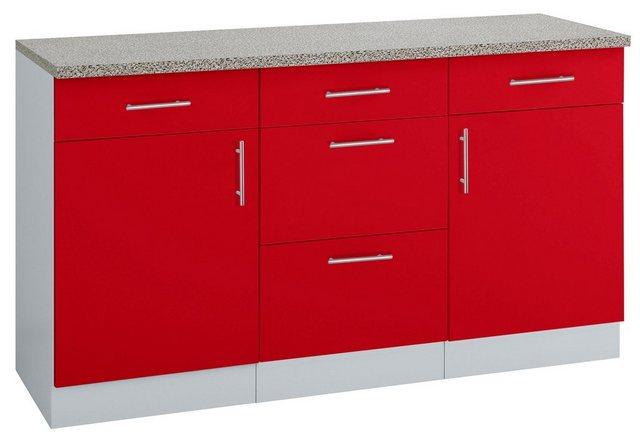 Küchenschränke - wiho Küchen Unterschrank »Kiel« 150 cm breit  - Onlineshop OTTO