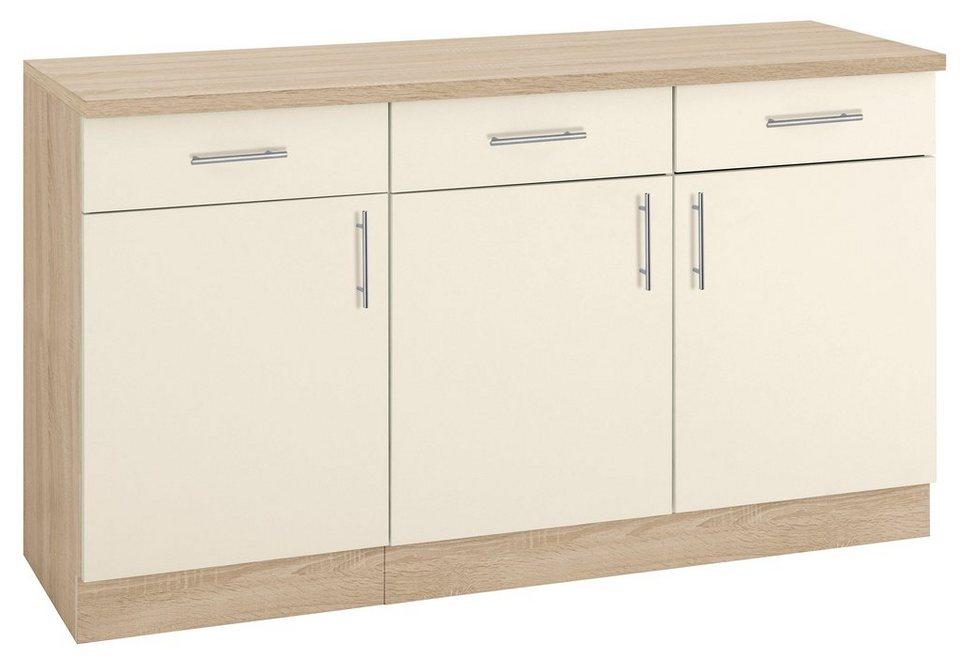 Küchen Kiel wiho küchen unterschrank kiel 150 50 85 cm otto