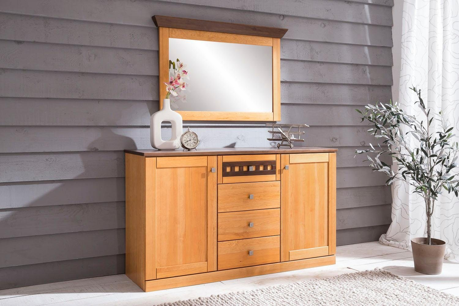 Premium collection by Home affaire Sideboard »Romantika« mit Softclose-Funktion, Breite 149 cm