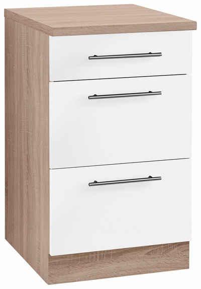 wiho Küchen Unterschrank »Aachen«, Breite 50 cm