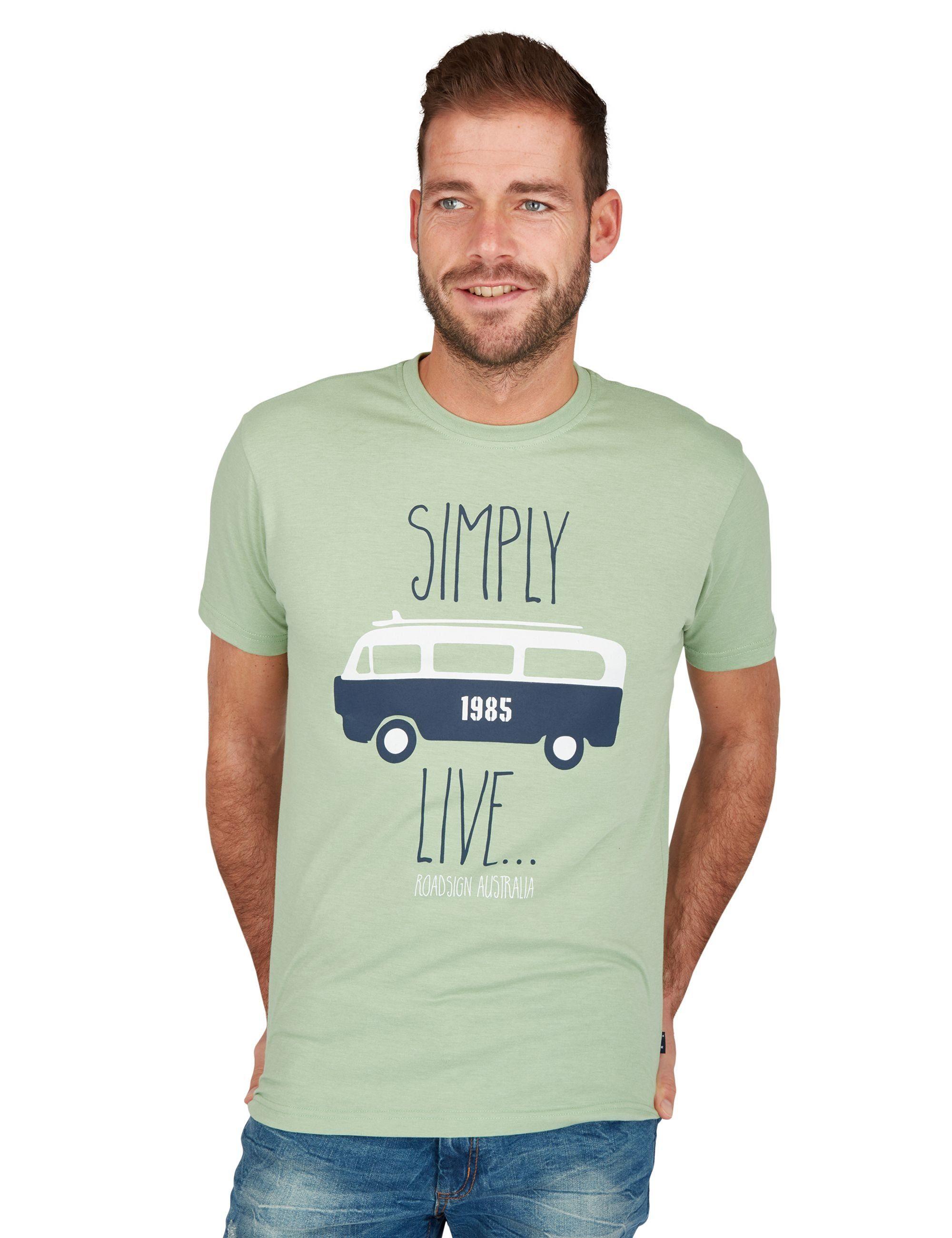 ROADSIGN australia T-Shirt »Van Life«