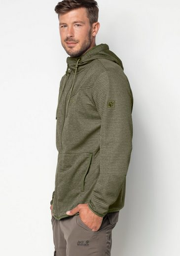 Jack Wolfskin Fleecejacke TONGARI HOODED JACKET MEN
