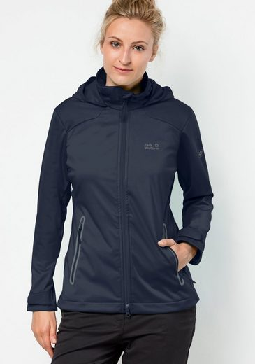 Jack Wolfskin Softshelljacke CUSCO VALLEY WOMEN