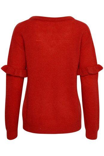 KAFFE V-Ausschnitt-Pullover Cora