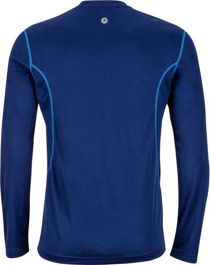 Marmot Sweatshirt Windridge LS Shirt Men with Graphic
