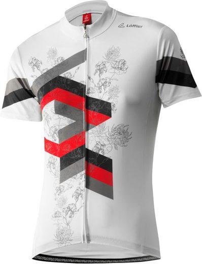 Löffler T-Shirt Flow FZ Bike Trikot Damen