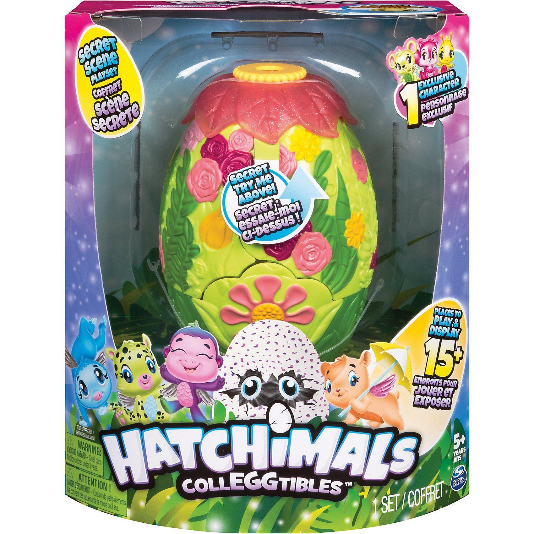 Spin Master Hatchimals Colleggtibles Secret Scene Playset - S3