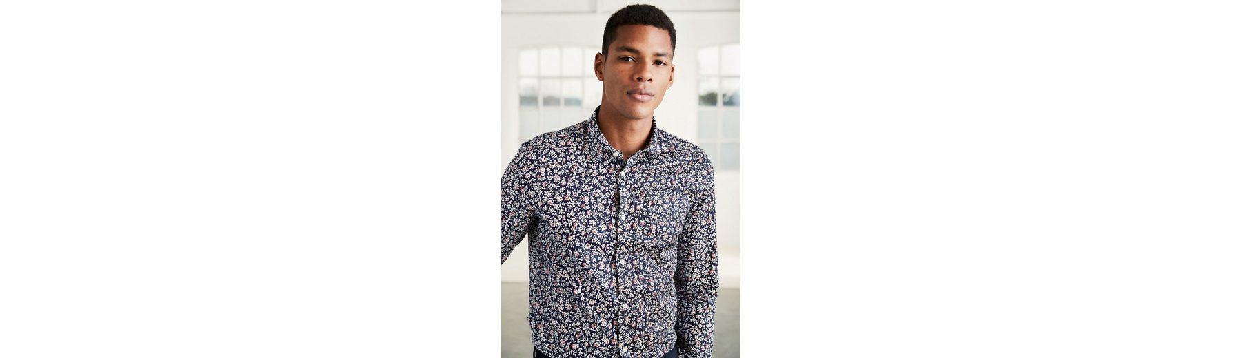 Günstige Online 2018 Zum Verkauf Next Slim-Fit Hemd mit floralem Print Angebote vhnbptKbAK