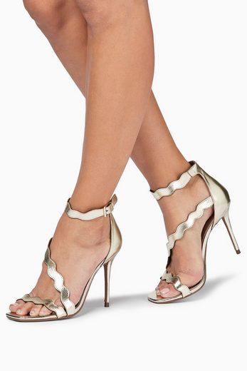 Next Sandalen mit Bogenkante