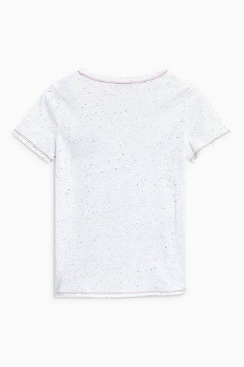 Next Valentin T-Shirt mit Stickarbeiten