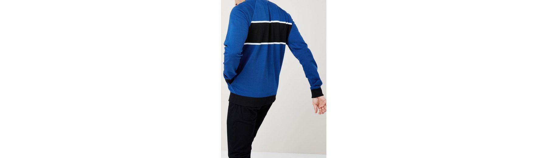 Next Pullover mit Bruststreifen und Trichterkragen Billig Verkauf Offizielle Seite Freies Verschiffen Gutes Verkauf Freies Verschiffen Niedrig Kosten bcng89Cw