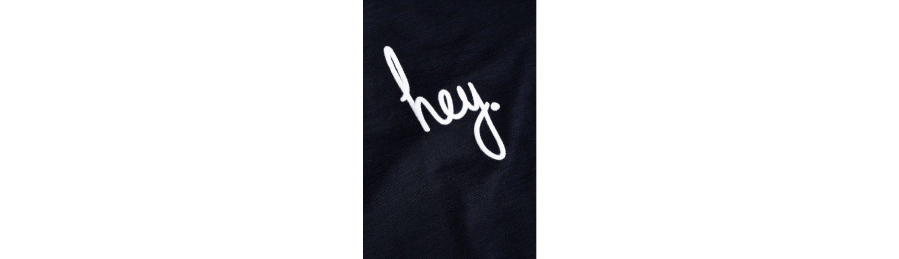 Next Langarmshirt mit Hey-Grafik Die Günstigste Online Mit Paypal Günstig Online Angebote Günstigen Preis Rabatt Fälschung Freies Verschiffen 100% Authentisch ZIe8t