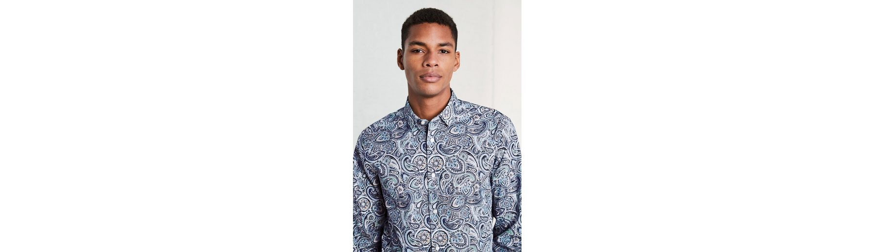 Freie Versandpreise Modisch Next Regular-Fit-Hemd mit Paisley-Muster 8zAGvA