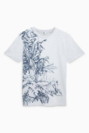 Next T-Shirt mit floralem Muster