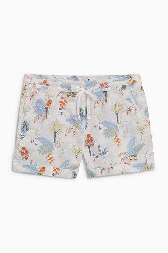 Next Shorts aus Leinengemisch
