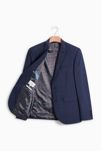 Next Striped Slim-fit Suit: Sakko