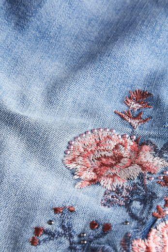 Next Blumenbestickte Jeans