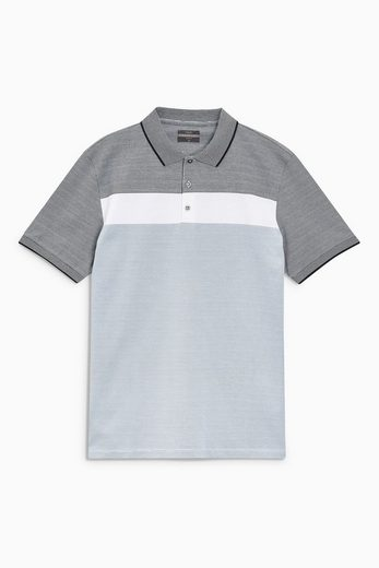 Next Noble Polo Shirt In Block Optics