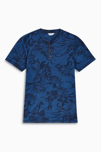 Next T-shirt With Stehkragen