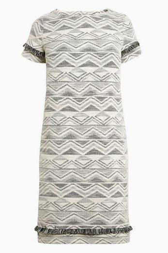 Next Kleid mit Jacquardmuster