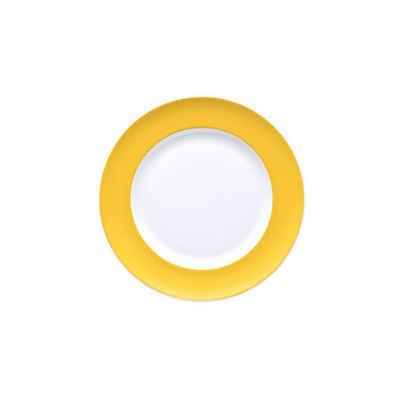 Thomas Porzellan Brotteller »Sunny Day Yellow Brotteller 18 cm«, (1 Stück)