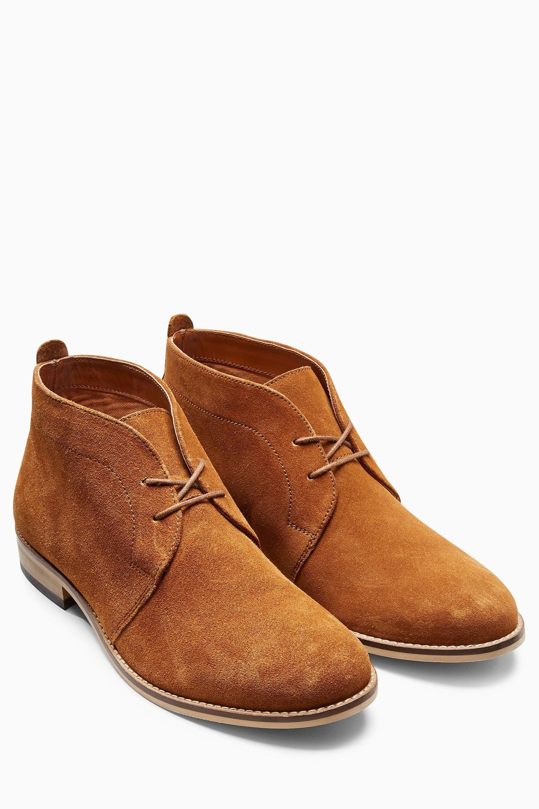 Next Stiefel aus Veloursleder online kaufen  Tan