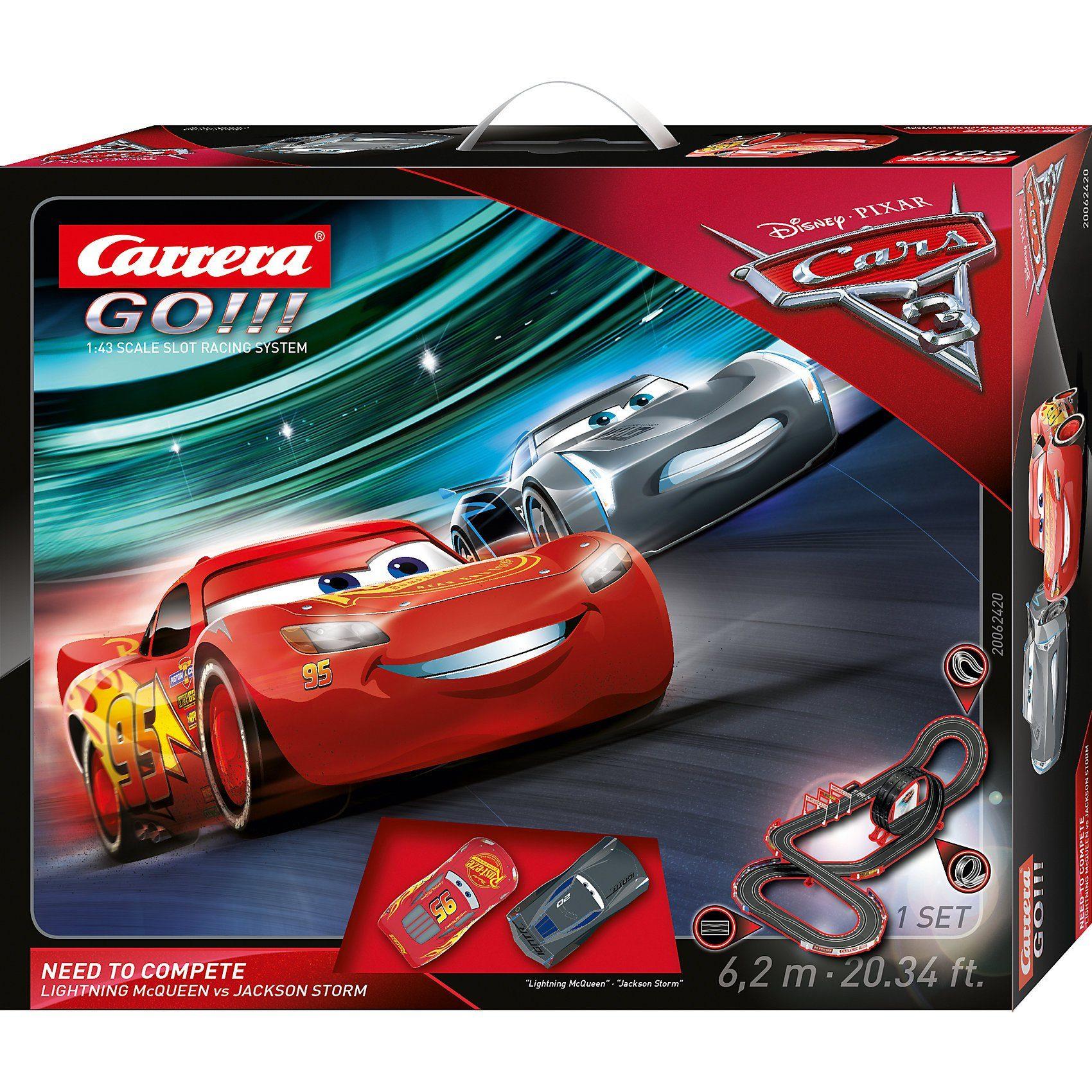 Carrera® GO!!! 62420 Disney/Pixar Cars 3 - Need to Compete