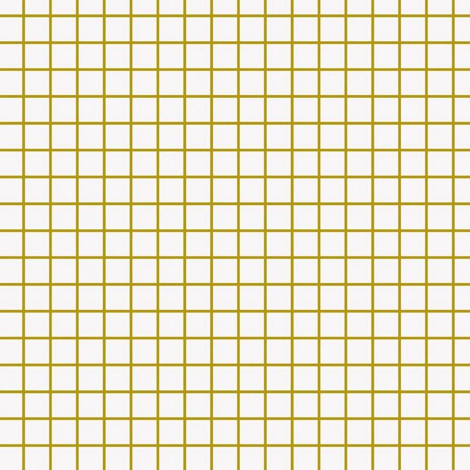 """Baumwoll-Stoff """"Karo-Gold"""" 140 cm breit (Meterware) online kaufen"""