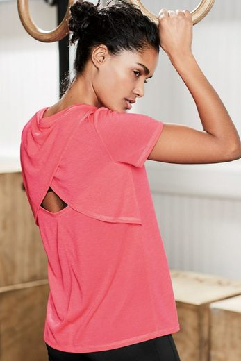 Next T-Shirt mit überkreuztem Rückendetail