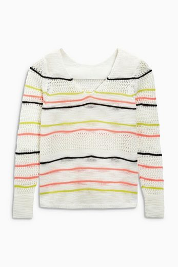 Next Pullover Stripe Knitted