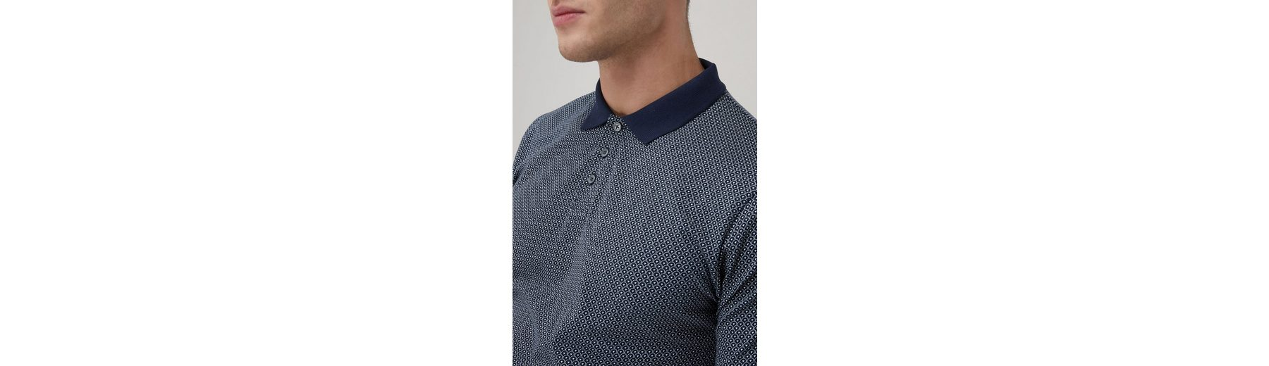 Next Poloshirts mit Muster und Streifen, 2er-Pack 2 teilig