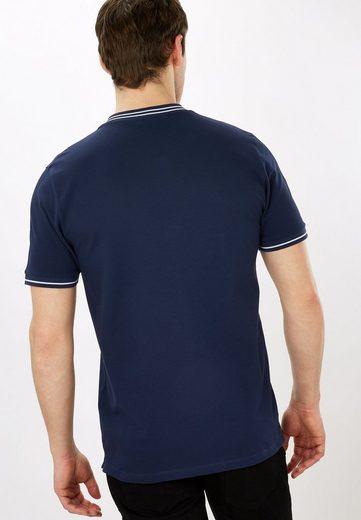 Next Baseball-T-Shirt mit Aufnäher