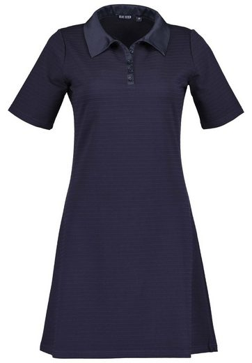 Blue Seven Jerseykleid mit Polokragen