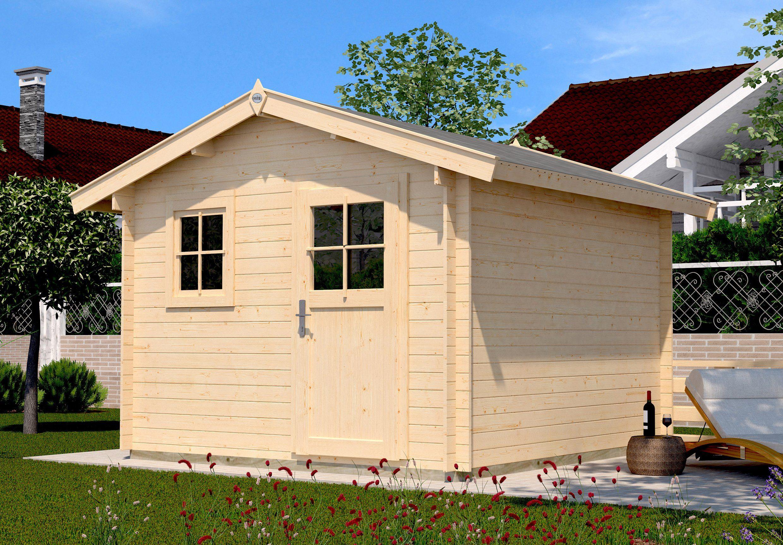 WEKA Gartenhaus »107 Premium«, BxT: 380x280 cm, inkl. Fußboden