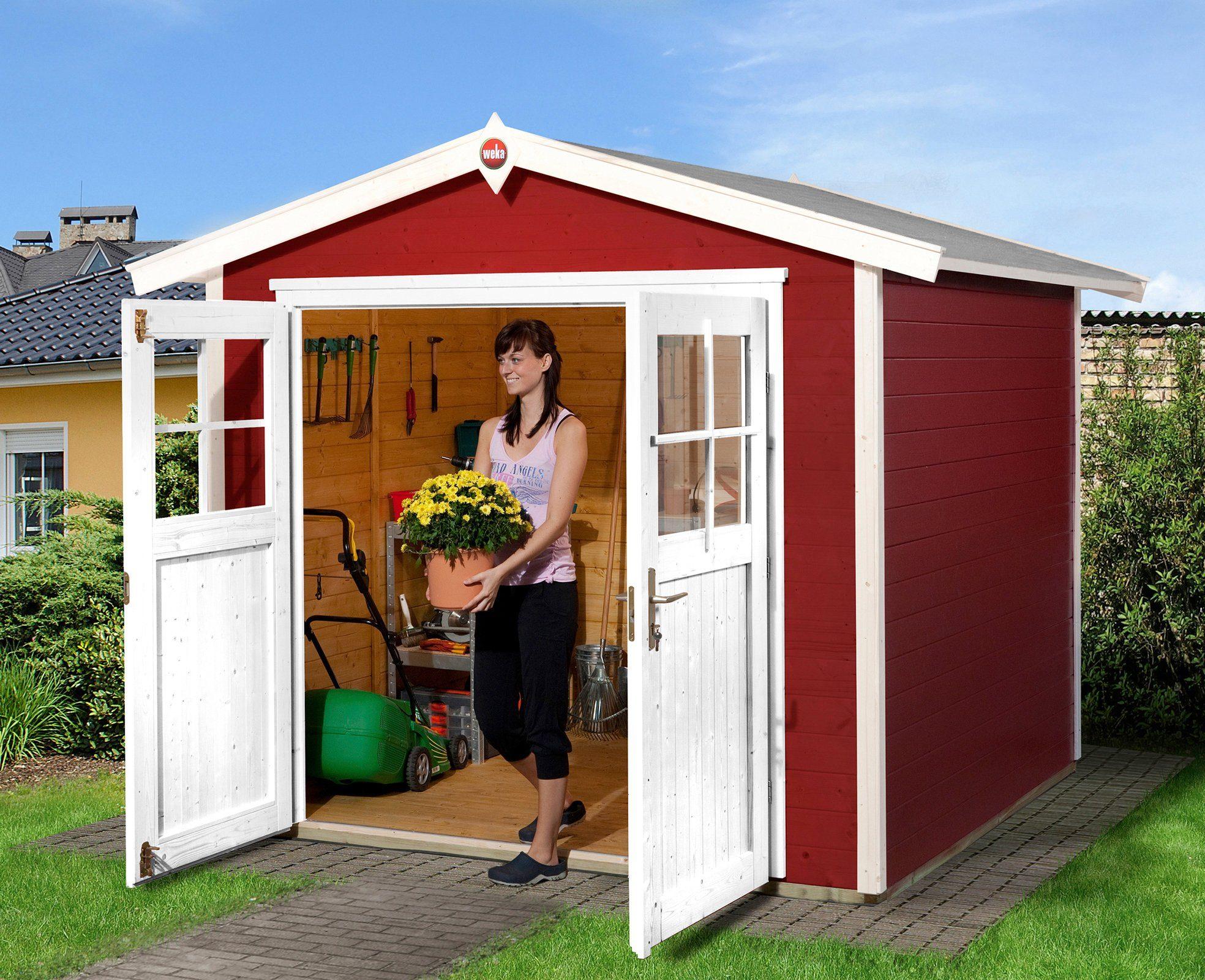 WEKA Gartenhaus »224 Gr.2«, BxT: 280x229 cm, inkl. Fußboden