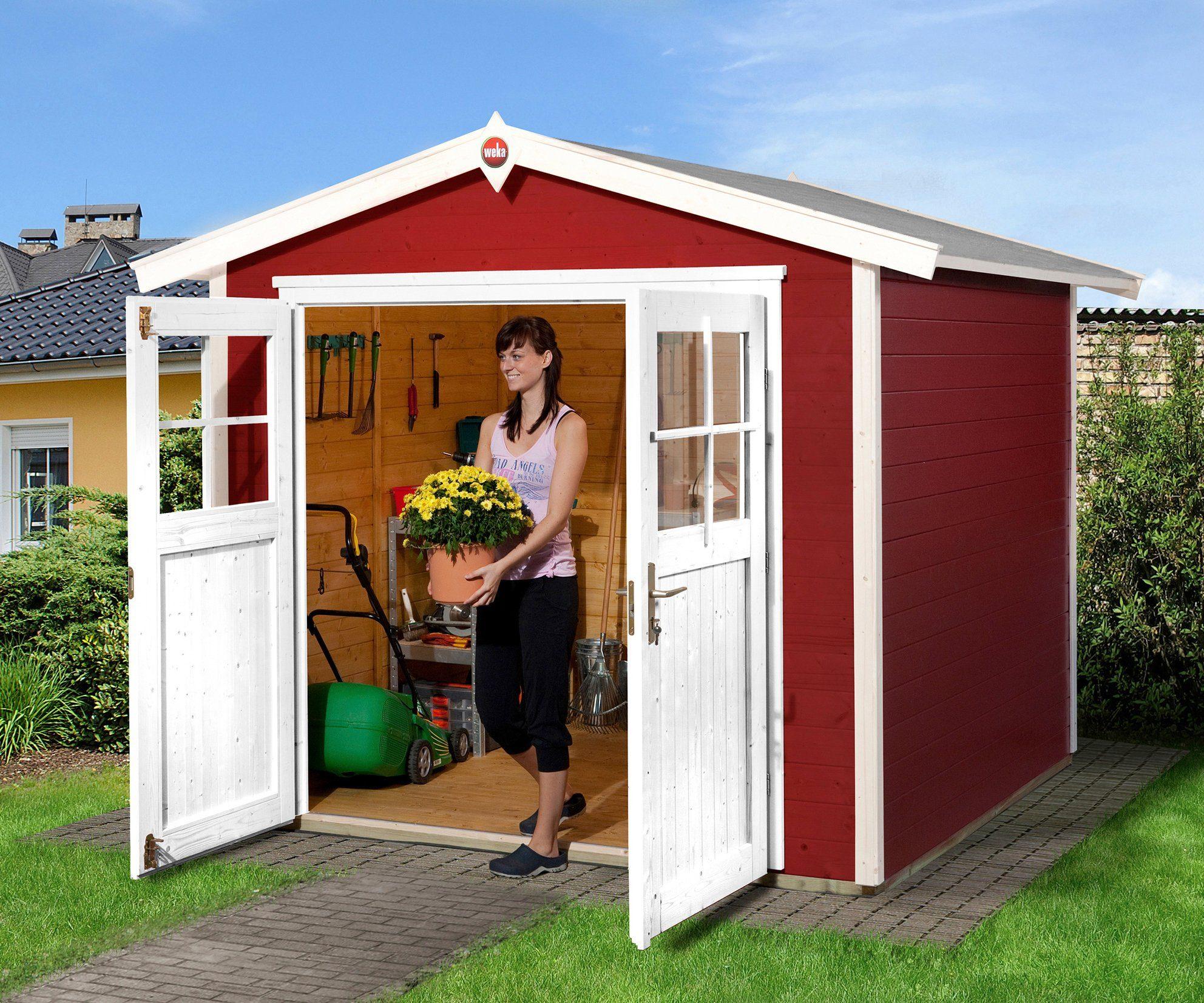 WEKA Gartenhaus »224 Gr.3«, BxT: 280x259 cm, inkl. Fußboden