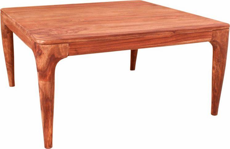 SIT Couchtisch »Mid Century«, aus Akazienholz, rechteckig oder quadratisch