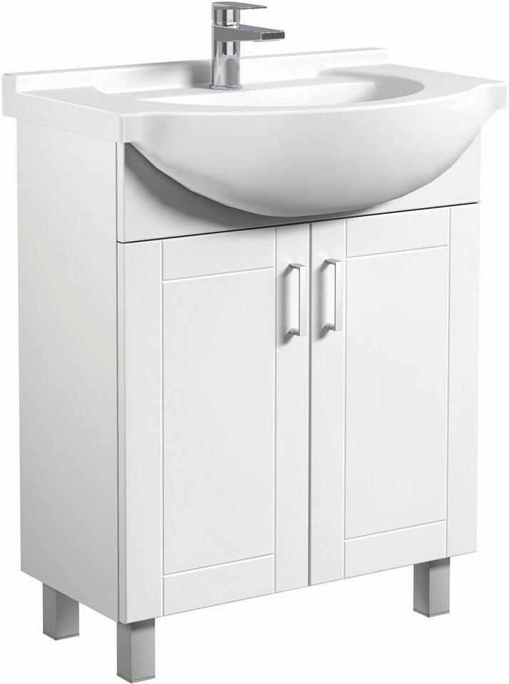 welltime  Waschtisch Eternal  vormontiert weiß | 04772033007252