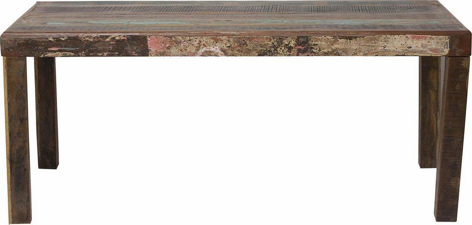 SIT Esstisch »Jupiter« aus recyceltem Altholz | OTTO